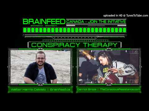 Conspiracy Therapy: Free Thinkers, The Conscious Resistance & Social Activism with Derrick Broze