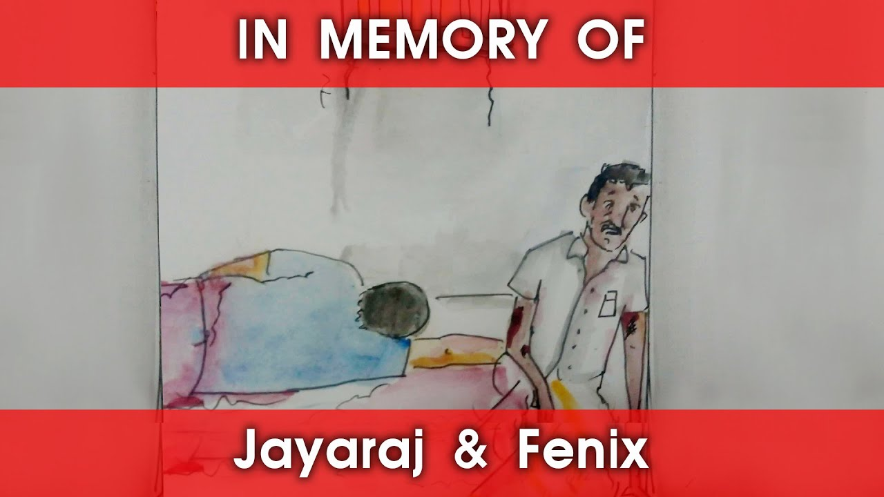 In memory of Jayaraj and Fenix | Fake Id | Sketchire | Oviyan Naan #justiceforjayarajandfenix