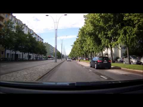 Driving in Helsinki and Espoo 24.6.2015