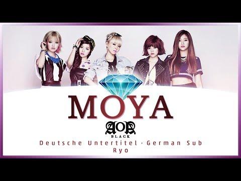 AOA Black - MOYA (에이오에이 - 모야) - Deutsch / German Lyrics / Deutsche Untertitel / Ger Sub
