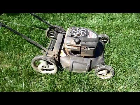 Sears Craftsman 675 Series Lawn Mower Free Easy Fix