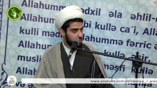 Kərbəlayı Ağadadaş Muslimov Cumə moizəsi Ramazan 17062016