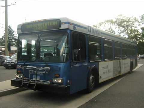 CT Transit 2001 New Flyer Industries D40LF 114(Audio Recording)