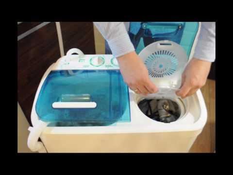 WS-40PET полуавтоматическая стиральная машина - устройство и эксплуатация