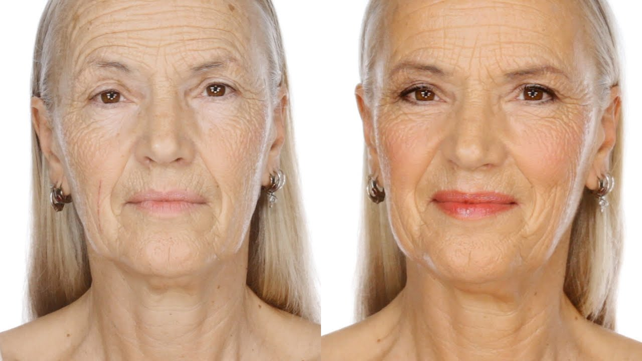 Best makeup for aging women