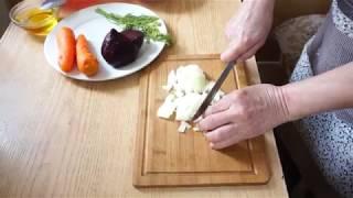 """Салат-""""Винегрет""""(без картошки)! #Рецепт# Постная еда!Раздельному питание."""