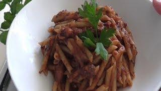 Pennette Al Sugo Di Polpi - Penne In Octopus Sauce