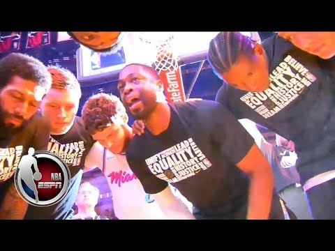 All love for Dwyane Wade in his Miami Heat return | ESPN