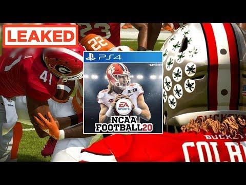 LEAKED footage of EA's new NCAA Football game