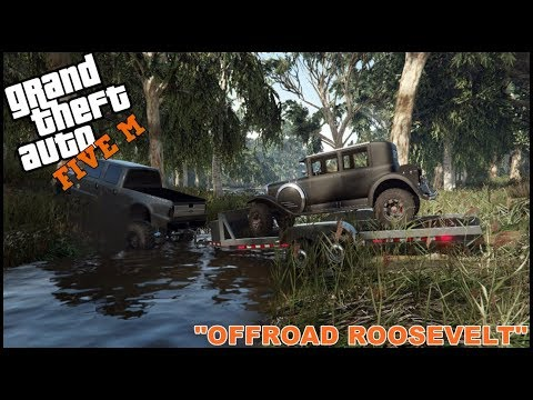 GTA 5 ROLEPLAY - JUNK YARD BUILD - LIFTED OFFROAD ROOSEVELT - EP. 227 - CIV