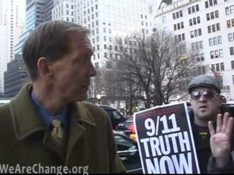 WeAreChange confronts Carl Cameron