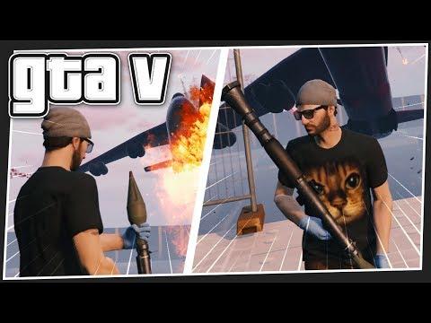 JUMBO JET SOMERSAULT | GTA 5 Online