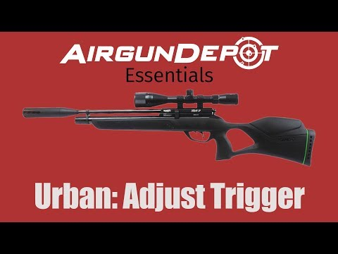 Gamo Urban: How to Adjust and Modify the Trigger - YouTube