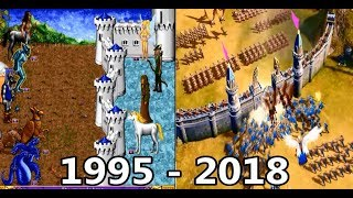 Evolution of HoMM 1995 - 2018