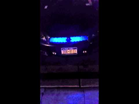 LED Color Changing Grill Lights. SCION TC