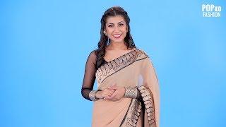 Different Ways To Drape A Saree Pallu - POPxo Fashion