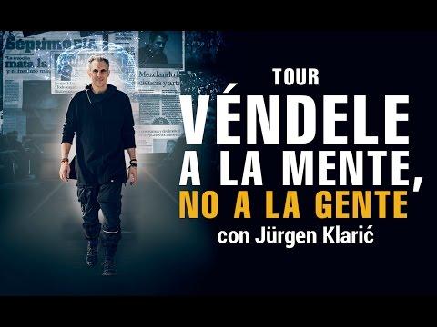 Tour Véndele a la Mente, No a la Gente - Jürgen Klarić en Medellín