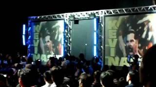 WWE日本公演 ケビンナッシュ 入場