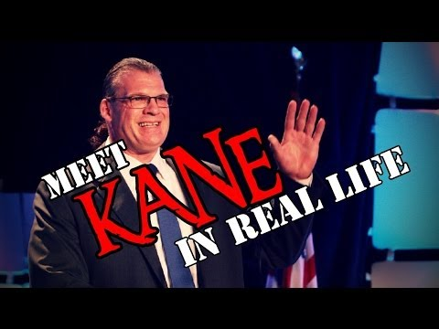 "Glenn ""Kane"" Jacobs UNMASKED Real Life Interview"