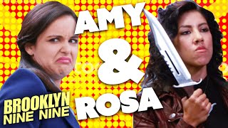 Rosa & Amy: Sleuth Sisters | Brooklyn Nine-Nine | Comedy Bites