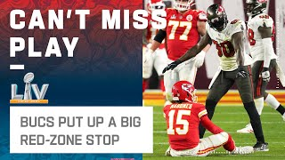 Bucs Red Zone Defense Stops Chiefs