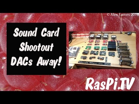 Which is the best Raspberry Pi sound card? DAC review | RasPi TV