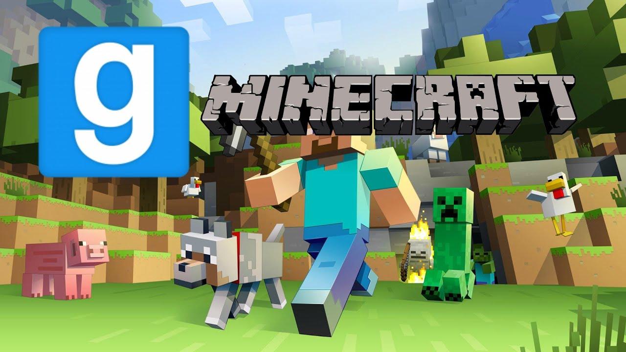 Garrys Mod   Minecraft Map - YouTube