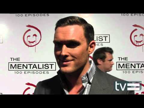 Owain Yeoman at The Mentalist Season 5 100th Episode Party