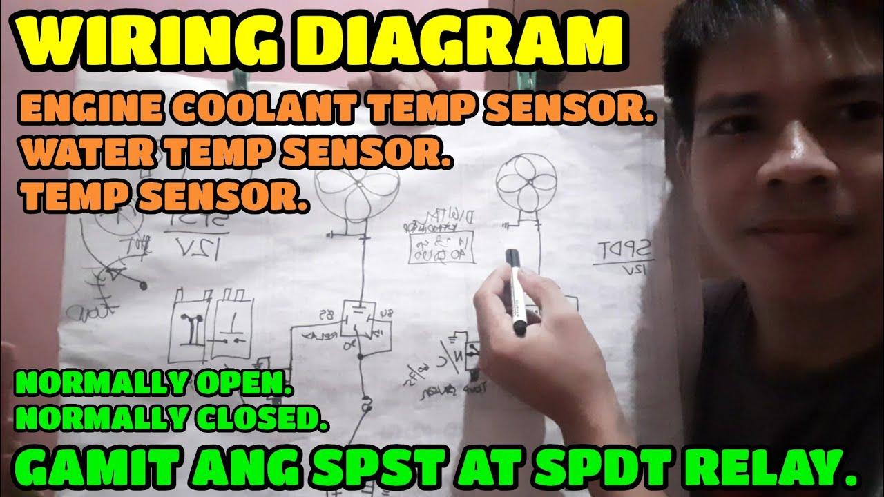 Coolant Temperature Sensor Wiring Diagram Youtube