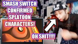 SUPER SMASH BROTHERS SWITCH CONFIRMED! SPLATOON CHARACTERS REACTION!