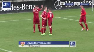 B-Junioren - VfB Stuttgart 2 vs. SV Zimmern 2-0 - Jovan Djermanovic
