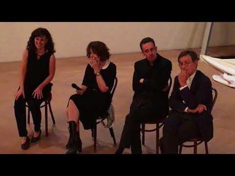 Rencontre avec Fanny Ardant et l'équipe de Cassandre au Théâtre Athénée