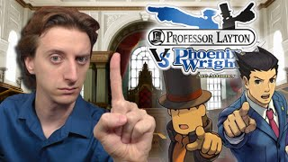One Minute Review - Professor Layton vs Phoenix Wright