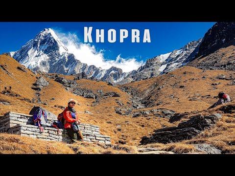Trekking to Khopra Danda & Khayer Lake from Ghorepani in Nepal   Travel Video