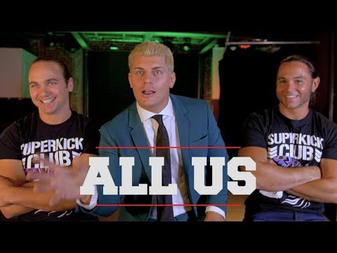 ALL US  The ALL IN Story as Told  Cody and The Young Bucks  Episode 1