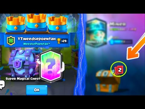 LEGENDARY FROM EVERY CHEST | Clash Royale | Legendary From Every Chest Possible Luckiest