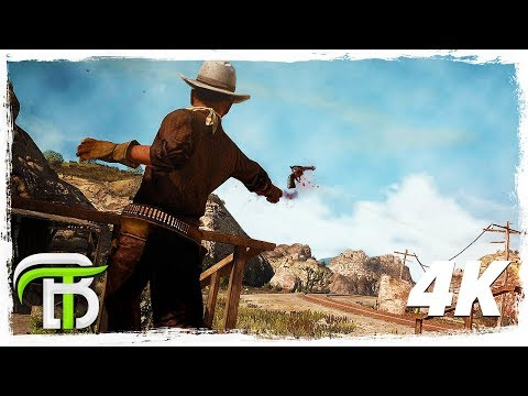 RED DEAD REDEMPTION 4k GAMEPLAY WALKTHROUGH #2 - BONNIE MCFARLANE