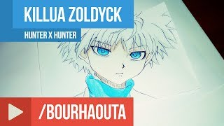 draw Killua Zoldyck ( Hunter x Hunter )