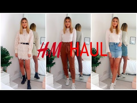 H&M HAUL & TRY ON | SPRING/SUMMER 2019