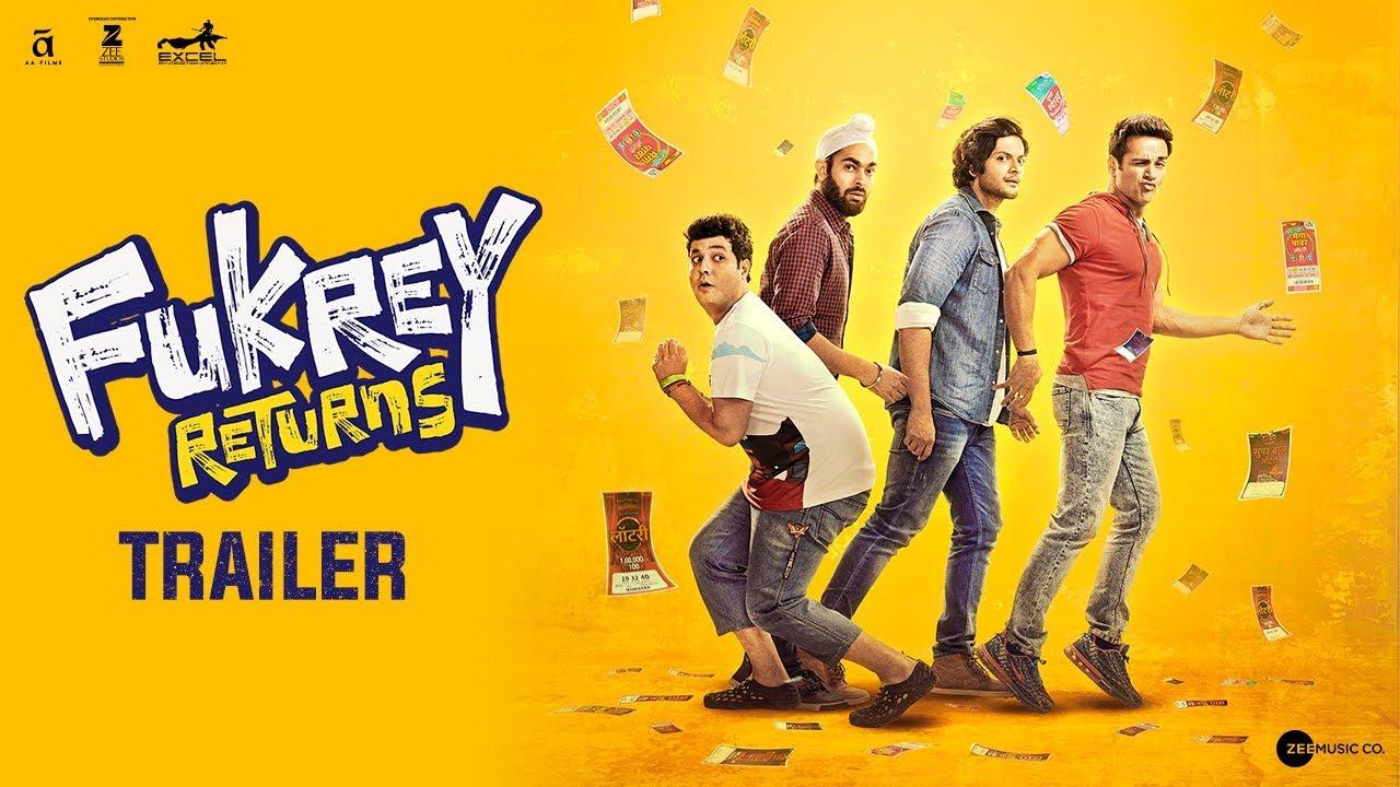 Download Fukrey Returns | Trailer | Pulkit Samrat | Varun Sharma | Manjot Singh | Ali Fazal | Richa Chadha