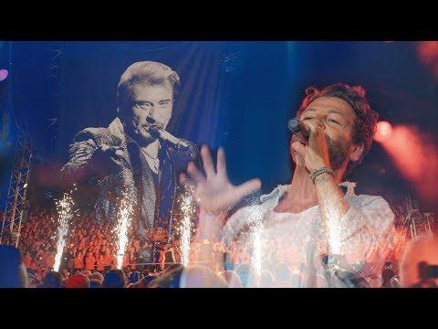 Les Fous Chantants d'Alès rendent hommage à Johnny Hallyday avec Christophe Maé