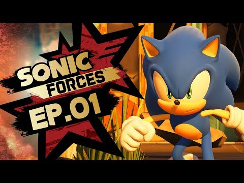 Sonic Forces PS4 Pro 4K Gameplay Walkthrough Playthrough Let's Play (Full Game) - Part 1 Hard Mode