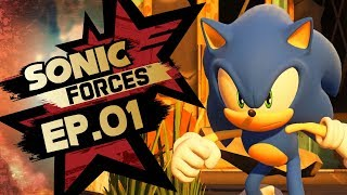 Sonic Forces PS4 Pro 4K Gameplay Walkthrough Playthrough Let