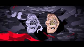 Casio G-Shock Camouflage Series - Overview