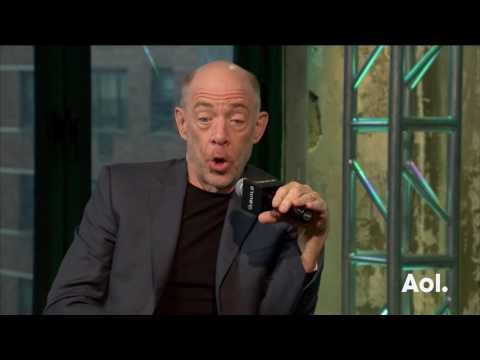 "J.K. Simmons Discusses His Action Thriller, ""The Accountant""  BUILD Series"