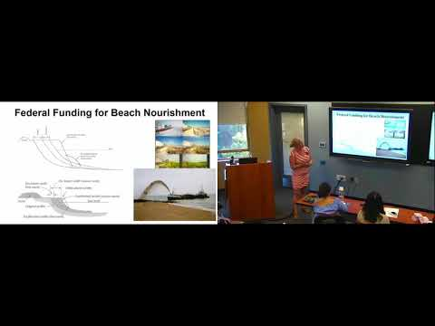 Sustainability Seminar Series: Coastal Resiliency in a Dynamic Ecosystem (Amy Williams)