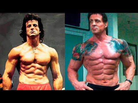 Thumbnail: Sylvester Stallone - Transformation From 1 To 71 Years Old