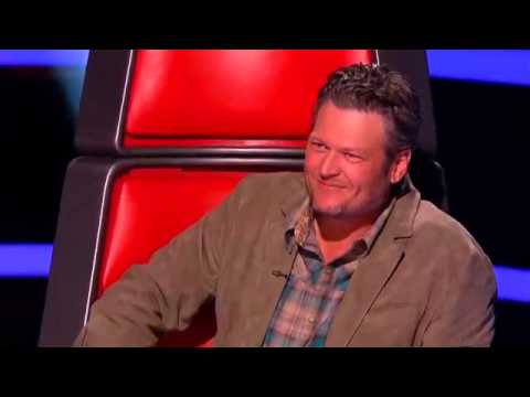 The Voice 2014 Blind Audition   Menlik Zergabachew  'Santeria'