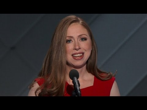 Chelsea Clinton's full DNC speech (Entire speech)