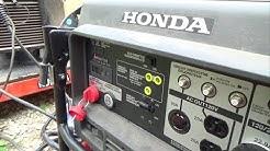Will the 7k Honda Generator run The Miller 212 Mig Welder??